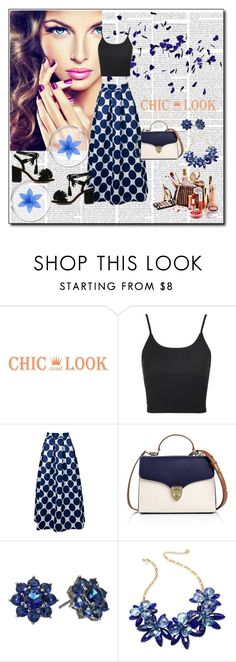 """chiclookcloset 17"" by woman-1979 ❤ liked on Polyvore featuring Topshop, Aspinal of London, Nina and Kate Spade"