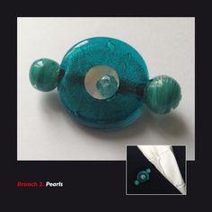 Brooch 2. Pearls