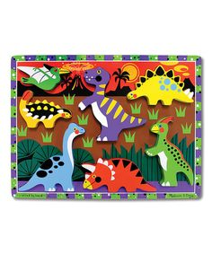 Look what I found on #zulily! Melissa & Doug Dinosaurs Chunky Puzzle by Special Needs #zulilyfinds
