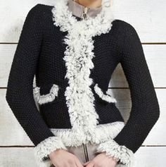 Lana, Chanel, Tutorial, Knitting, Crochet, Sweaters, Style, Fashion, Coats