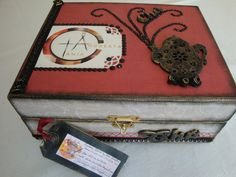 caixa de chá personalizada... Ritarte by Rita Schefler