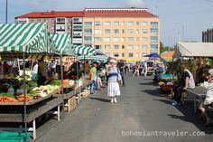 Tammelantori Market Tampere Finland -totally had all the berries and riisi pirrakka a person could handle Helsinki, Cities In Finland, Native Country, River Bank, Buy Local, Sunny Days, Perfect Place, Street View, Marketing