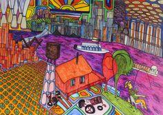 "'One of my ""Old Man River"" dreams (My dreams of America, part by gheider Paul Klee, Framed Prints, Canvas Prints, Art Prints, Old Men, My Dream, America, River, Poster"