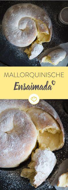 Sehnsucht nach den Balearen? Dann bereite dir Ensaimada zu und hol dir mit der mallorquinischen Hefeschnecke etwas Urlaubsgefühl nach Hause.
