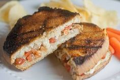 Bruschetta Grilled Cheese… On the Grill!