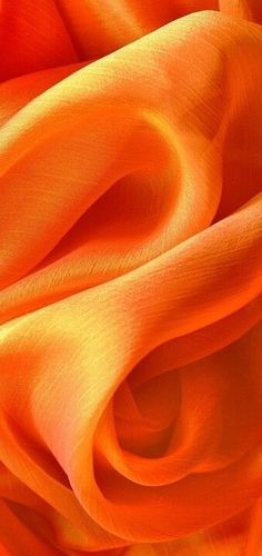 Luxurious & Sensational Orange Silk with a Burst of Brilliant Color For Everywhere !! :)