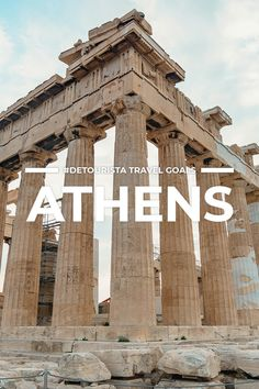 Beautiful Places to Visit for First-Timers Beautiful Places To Visit, Cool Places To Visit, Tourist Spots, Travel Goals, Greece Travel, Where To Go, Athens, Travel Inspiration, Traveling By Yourself