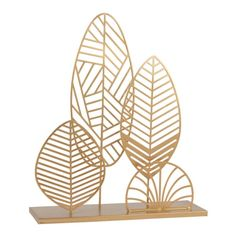 Gold-Tone Metal Foliage Statue on Maisons du Monde. Take your pick from our furniture and accessories and be inspired! Simple Geometric Designs, Simple Geometric Pattern, Geometric Decor, Arch Interior, Interior Design, Metal Arch, Archi Design, Geometric Cushions, Geometric Poster
