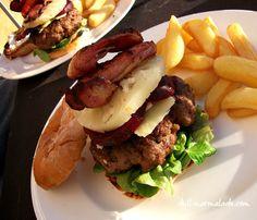 The ultimate Aussie burger Hamburger Recipes, Good Burger, Marmalade, Drink Recipes, Bbq, Barbie, Meat, Drinks, Food