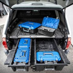 Jeep Wrangler Accessories Discover Decked Crossbox Whats Hip: Top Gear From Immersive Outpost Trade Show Truck Bed Drawers, Truck Bed Storage, Drawer Storage, Truck Bed Tool Boxes, Camping Storage, New Trucks, Cool Trucks, Pickup Trucks, Chevy Trucks