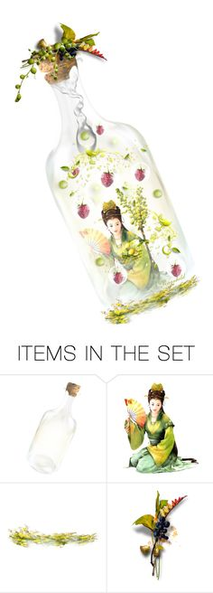 """""""Fresh Bottle Bookmark"""" by ragnh-mjos ❤ liked on Polyvore featuring art"""