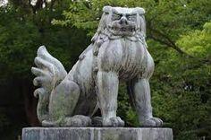 komainu - Buscar con Google Garden Sculpture, Lion Sculpture, Nihon, Culture, Statue, Architecture, Outdoor Decor, Image, Japanese