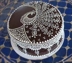 Cake Wrecks - Home - Sunday Sweets: Eastern Elegance by Henna Lounge