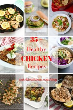 35+ healthy and delicious chicken recipes the whole family can enjoy…