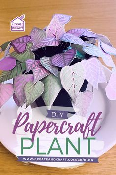 Paper plants are a super cute way of filling small spaces in the home. You can make them as bright or as muted as you like, coordinate them with your home decor, and place them absolutely anywhere without having to worry about light or heat. So if you're not as green fingered as you'd like to be, check out our tutorial and learn how to craft your own paper Chinese money plant instead! Chinese Money Plant, Paper Plants, Make Your Own, How To Make, Create And Craft, As You Like, Easy Crafts, Small Spaces, Diy Home Decor