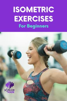 You're familiar with fast, high-intensity cardio… But what about other workouts for other purposes? Today I'm going to tell you all about isometric exercises…something you should DEFINITELY add to your routine!