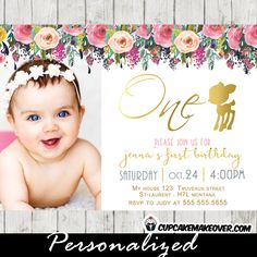 196 best woodland first birthday girl images on pinterest in 2018 a gorgeous woodland willow deer 1st birthday invitation featuring your little girls picture with a beautiful filmwisefo