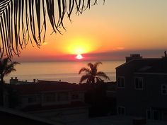 Cardiff-by-the-Sea, sunset in San Diego, 9/15/12