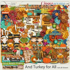 And Turkey for All by Clever  THANKSGIVING