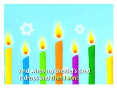 Sing Along: Dreidel Song (I Have a Little Dreidel) from Speakaboos.com #singalong #dreidel #jewish #holiday #kids