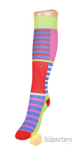 Spring Two - awesome colourful compression socks by a Swedish designer Linn Mork. Only £12.90 from www.butik21.co.uk/