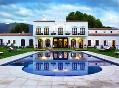 Winespa, at Patios de Cafayate Wine Hotel, is located in a wine-producing region of Argentina.