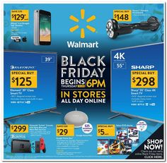 Walmart Black Friday 2017 Ad Scan, Deals and Sales The Walmart 2017 Black Friday ad is in! Their sale starts on Thanksgiving in-store and at on Black Friday online. Walmart Black Friday Deals, Black Friday Toy Deals, Black Friday Ads, Black Friday Shopping, Walmart Deals, Walmart Online, Deal Sale, Snitch, Shopping