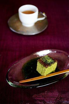 Matcha Cake 抹茶カステラ