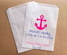 Anchors Away gift bags