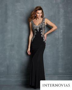 vestido preto frente