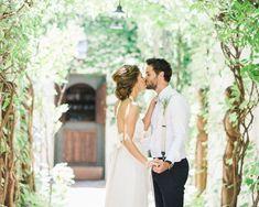 Bride and groom. Katie + Pete | The Villa, San Juan Capistrano Wedding | ADRIAN JON PHOTO