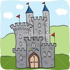 Illustration of fairytale castle kingdom cartoon style Grand Prix, Newark Castle, Castle Cartoon, Fairytale Castle, Illustration, Budget Template, Dog Snacks, Conte, Drawing