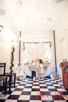 Winter Wonderland, Birch Trees Birthday Party Ideas | Photo 7 of 31 | Catch My Party