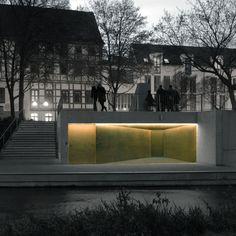 Projektseite Schutzbau für die mittelalterliche Mikwe in Erfurt. gildehaus.partner architekten BDA