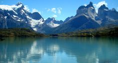Torres del Paine national park in the Chilean Patagonia