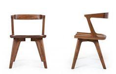 Cool wooden chair  De La Espada Colombo - www.metaforma.pl