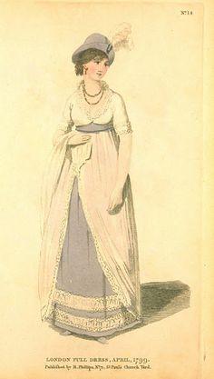 London Full Dress 1799