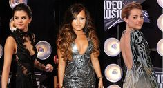 Demi Lovato And Selena Gomez And Miley Cyrus | Miley Cyrus, Selena Gomez, Demi Lovato: ¿Quién fue más glamorosa a ...