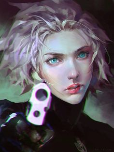 Digital portrait by June Cheng.More Characters here.