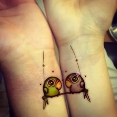 Increíbles tatuajes para parejas