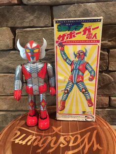 Bullmark Zaborgar. Mechanical Tin Toy 70s/fair07