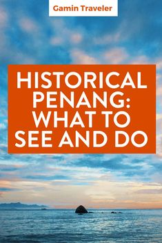 What to do in Georgetown and what food you must try. Historical Penang: What to see and do via @gamintraveler: