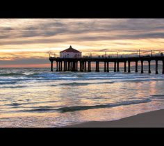 Manhattan Beach...Screw Hawaii! Doug and I have decided this is our go to beach vacation location! Great town, tons to do, super cheap, LOVE LOVE LOVE