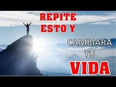 Nuestra conversación mental precisa y matiza nuestros sentimientos y percepciones sobre lo que sucede en nuestras vidas, y son estas formas de pensamiento la... Qoutes, Youtube, Movie Posters, Frases, Spirit Guides, Spirituality, Good Advice, Change Of Life, Prayers