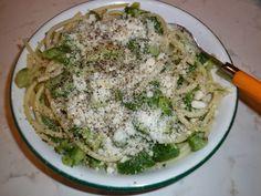 Mangio sano........mangio Vegano! (e mi diverto): Uno spago con zucchine alla grigia....