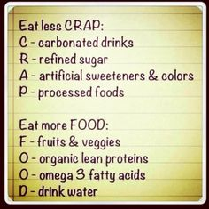 FOOD does your body good! http://www.advocare.com/130855431