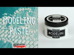 Modellező paszta // Modeling Paste - YouTube Modeling Paste, Baking Ingredients, Coffee Cans, Drink Sleeves, Decoupage, Stencils, Youtube, Instagram, Decorated Boxes