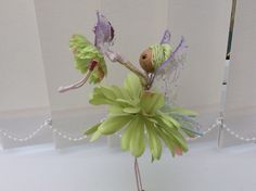 Flower Fairy Doll, mother and child by UnderCaledonianSkys on Etsy