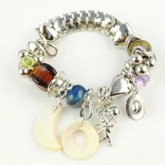 Elastic Chain Beaded Bracelet, Colorful Acrylic Beaded Stretch Bracelet , Br-1116a Jewellerygets Bracelet. $4.50. Charm Bracelet. Stretch Bracelet. Chinese seller. Weight:60gram. Acrylic Beaded Bracelet