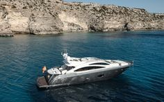 A luxurious yacht available to be chartered Ibiza and in the whole Balearic Islands. Balearic Islands, Luxury Yachts, Ibiza, Travel, Boats, Style, Predator, Swag, Trips